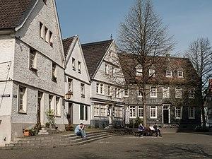 Mettmann - Image: Mettmann, straatzicht der Markt foto 1 2014 03 30 12.07