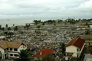 Library damage resulting from the 2004 Indian Ocean earthquake