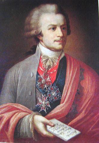 Michał Jerzy Mniszech - Anonymous portrait