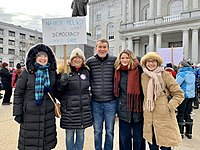 Michael Bennet at the 2020 Women's March in Concord 08.jpg