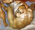 Michelangelo, giudizio universale, dettagli 04.jpg