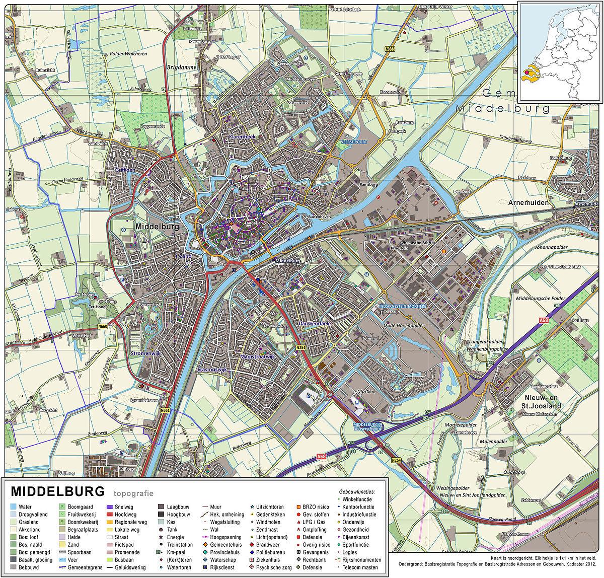 Middelburg Zeeland Travel guide at Wikivoyage
