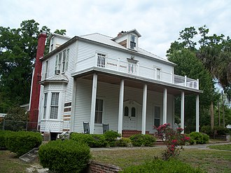 National Register of Historic Places listings in Clay County, Florida - Image: Middleburg FL GA Chalker House 01