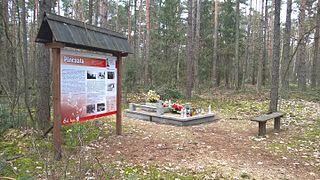 Pińczata Village in Kuyavian-Pomeranian Voivodeship, Poland