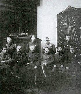 Miembros Revvoensoviet URSS 1927
