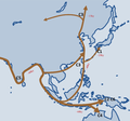 Migration of the Y chromosome haplogroup C in East Asia.png