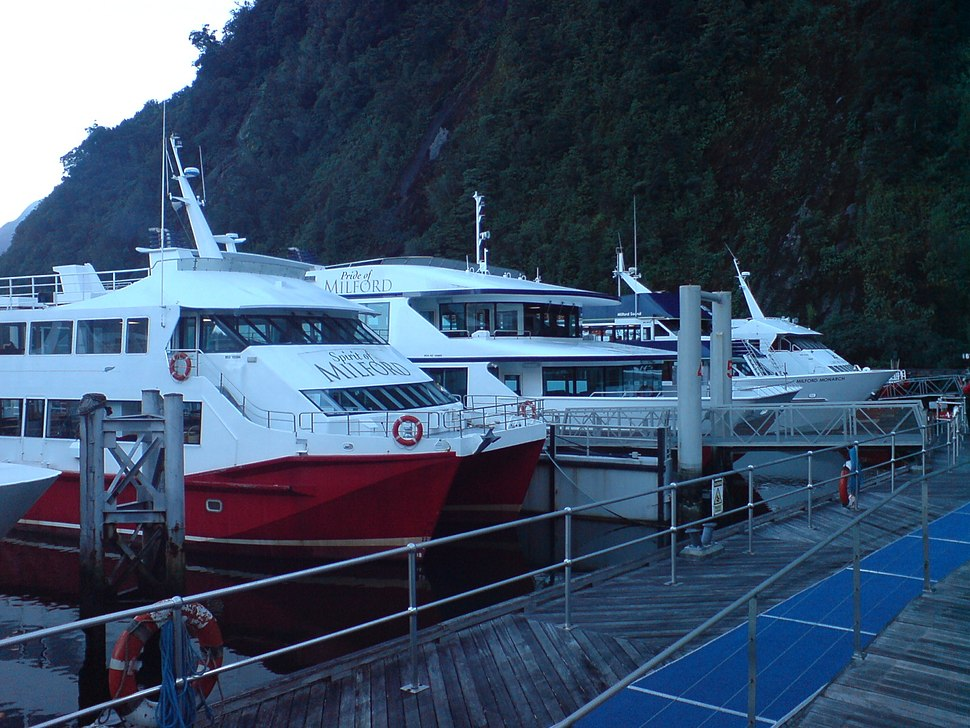 Milford Sound Tour Boats