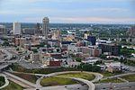 Mills District from Riverside Plaza 2014-08-26.jpg