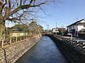 Minami-Shinkawa River from Karinbashi Bridge in Chikugo-Yoshii Area.jpg