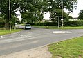 Mini roundabout in Blaby - geograph.org.uk - 481645.jpg