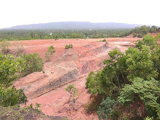 Mini unit of China clay in Madayipara