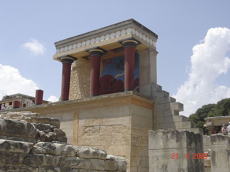 Minoan Palace of Knossos, Greece: 2000 B.C.
