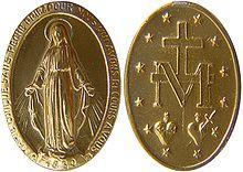 08ad78cb122 Los dos lados de una Medalla Milagrosa.