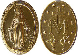 Devotional medal medal issued for Christian religious devotion