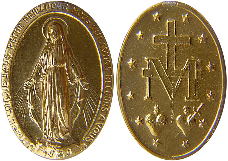 800px-Miraculous_medal - 1949: The 'Secret of Lipa' in relation to China - Bible Study
