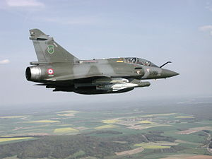 AS-30 - Dassault Mirage 2000D and one AS-30L.