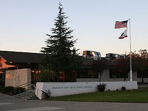 Mission San Jose High School - Mission San Jose High School building