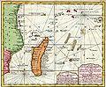 Moçambique, Zanzibar, Madagascar, Océan indien, Bellin, Leipzig,1748.jpg