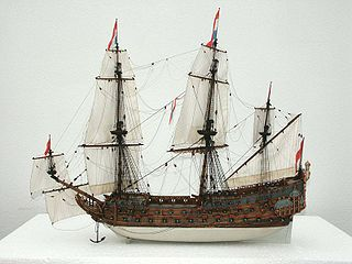 1665 ship of the line of the Dutch Navy
