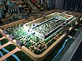 Model of the City of Jv in Rizhao Urban Planning Exhibition Hall 2011-08.JPG