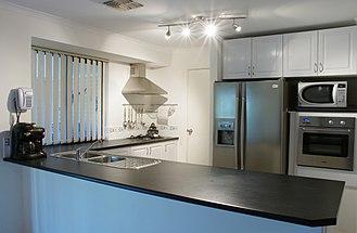 Kitchen - Image: Modern kitchen gnangarra