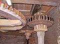 Molen De Korenbloem, Kortgene aandrijving buil, mengketel en steenspil door spoorwiel.jpg
