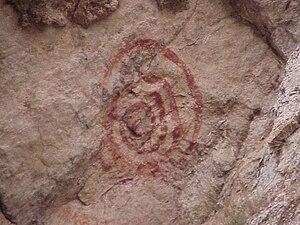 Mona, Utah - American Indian rock art near Mona