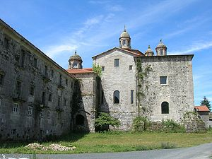 Fernando Pérez de Traba - Sobrado dos Monxes, an abandoned royal monastery, was granted to Fernán and his brother Vermudo in 1118. In 1142 they established a Cistercian community there.