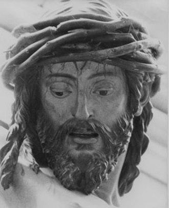 Juan Martínez Montañés - Cristo de la Clemencía, detail; commissioned in 1603, Cathedral sacristy, Seville
