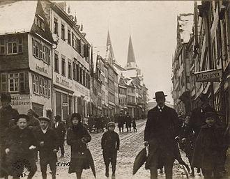 Montabaur - Montabaur in 1918