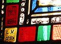 Montagnac-la-Crempse église vitrail signature.JPG