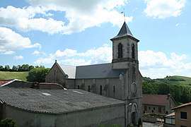 The church in Montagnol