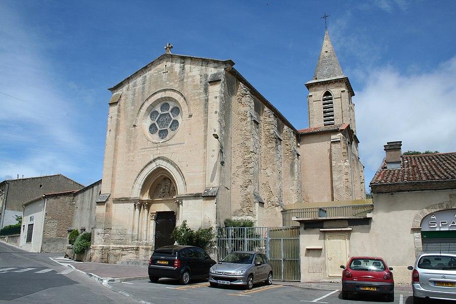 Montbazin (Hérault) - Église Saint-Jean-Baptiste.