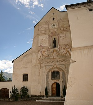 Marienberg Abbey - Church of Marienberg Abbey