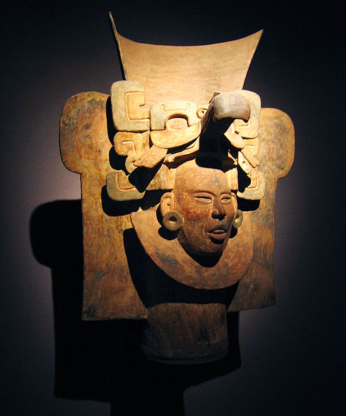 Monte alban oaxaca mask.