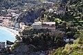 Monterosso al Mare, Colle dei Cappuccini, Monastero e chiesa di San Francesco e resti del castello dei Fieschi. - panoramio.jpg