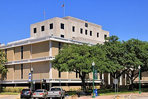 Das Montgomery County Courthouse in Conroe