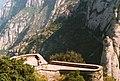 Montserrat widok na Santa Cova Hiszpania - panoramio.jpg