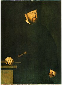 Portrait of John III by Antonis Mor