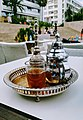 Moroccan mint tea on a traditional tray.jpg
