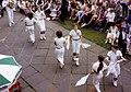 Morris Dancers, South Hill Park Bracknell, 1986. - geograph.org.uk - 345453.jpg