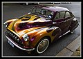 Morris Minor at Mustang Show Canberra-1 (8553154188).jpg