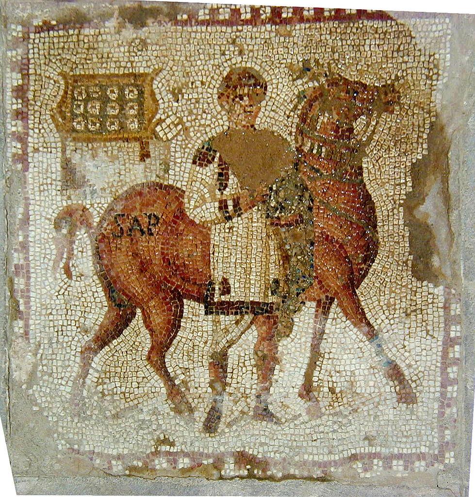 ملفmosaique Des Chevaux De Carthage Sapjpg ويكيبيديا