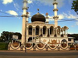 Moschee-Keizerstraat-Suriname