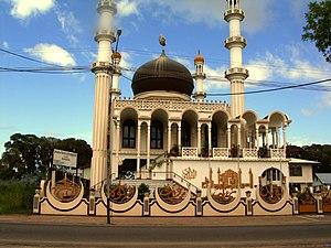 Islam in Suriname - Mosque Keizerstraat in Paramaribo
