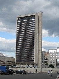 Moscow, Schepkina 42 - Roscosmos building.jpg