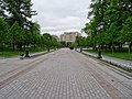 Moscow, new pavement in Aleksandrovsky Garden.jpg