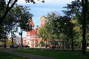 Moscow ChurchAnnunciation Petrovsky Park77.JPG, автор: Ludvig14