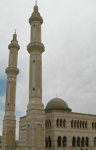Azaz - Image: Mosque in A'zaz