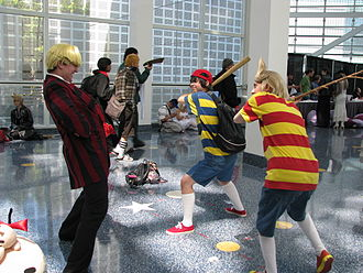 EarthBound fandom - Mother series cosplayers